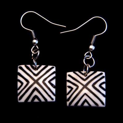 Ohrringe Diagonals