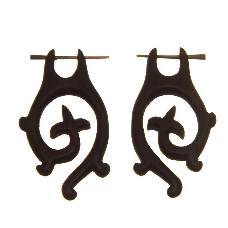 Ethno-Ohrringe Knight Spiral
