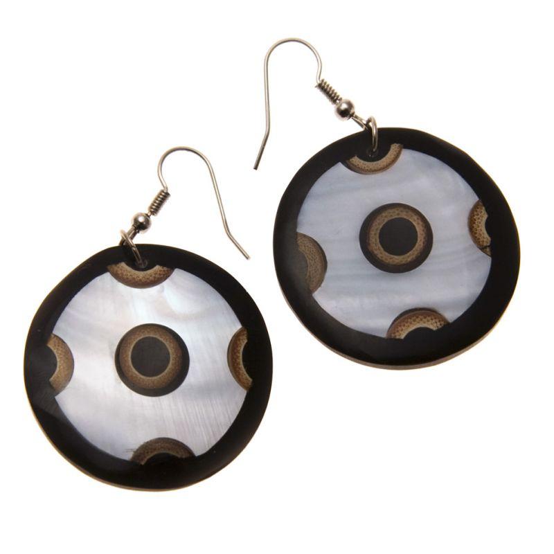 Muschel-Ohrringe Bidadari's EyeBidadaris Auge