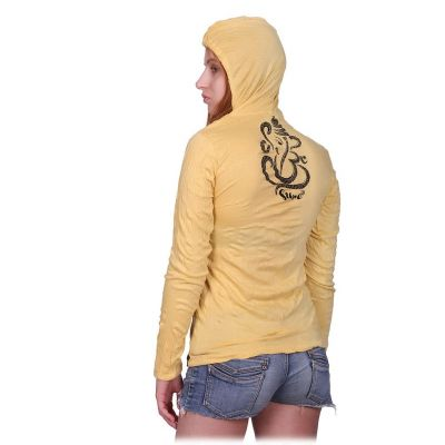 Damen Kapuzen-T-Shirt Sure Elephant Yellow