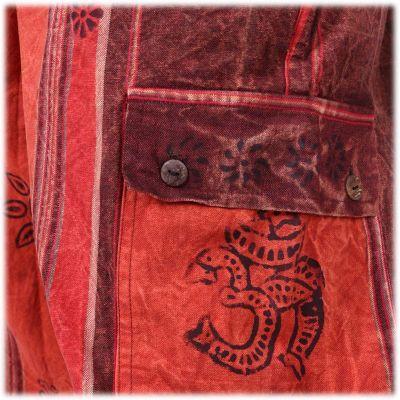 Ethnische Herrenhose Gambar Red Nepal
