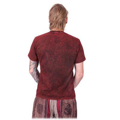 T-shirt Om Senang Red