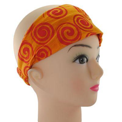 Haarband Gulung Jingga