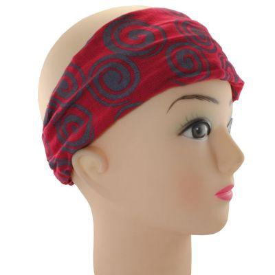 Haarband Gulung Merah