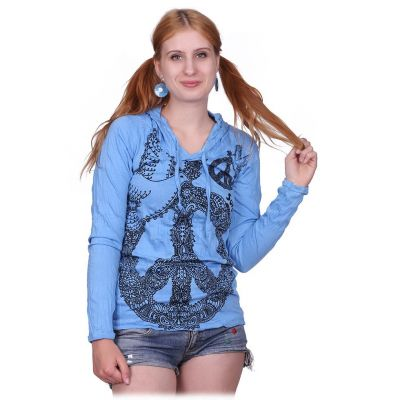 Damen T-Shirt Dove of Peace Blue