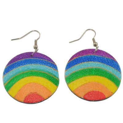 Ohrringe Coloured Ball