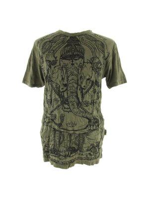 Men's t-shirt Sure Angry Ganesh Green   M, L, XL, XXL