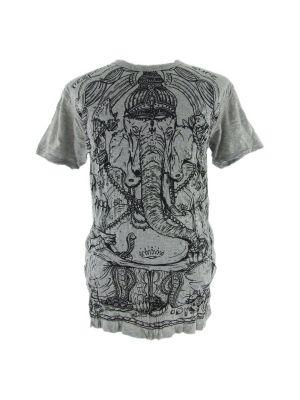 Men's t-shirt Sure Angry Ganesh Grey   M, L, XL, XXL