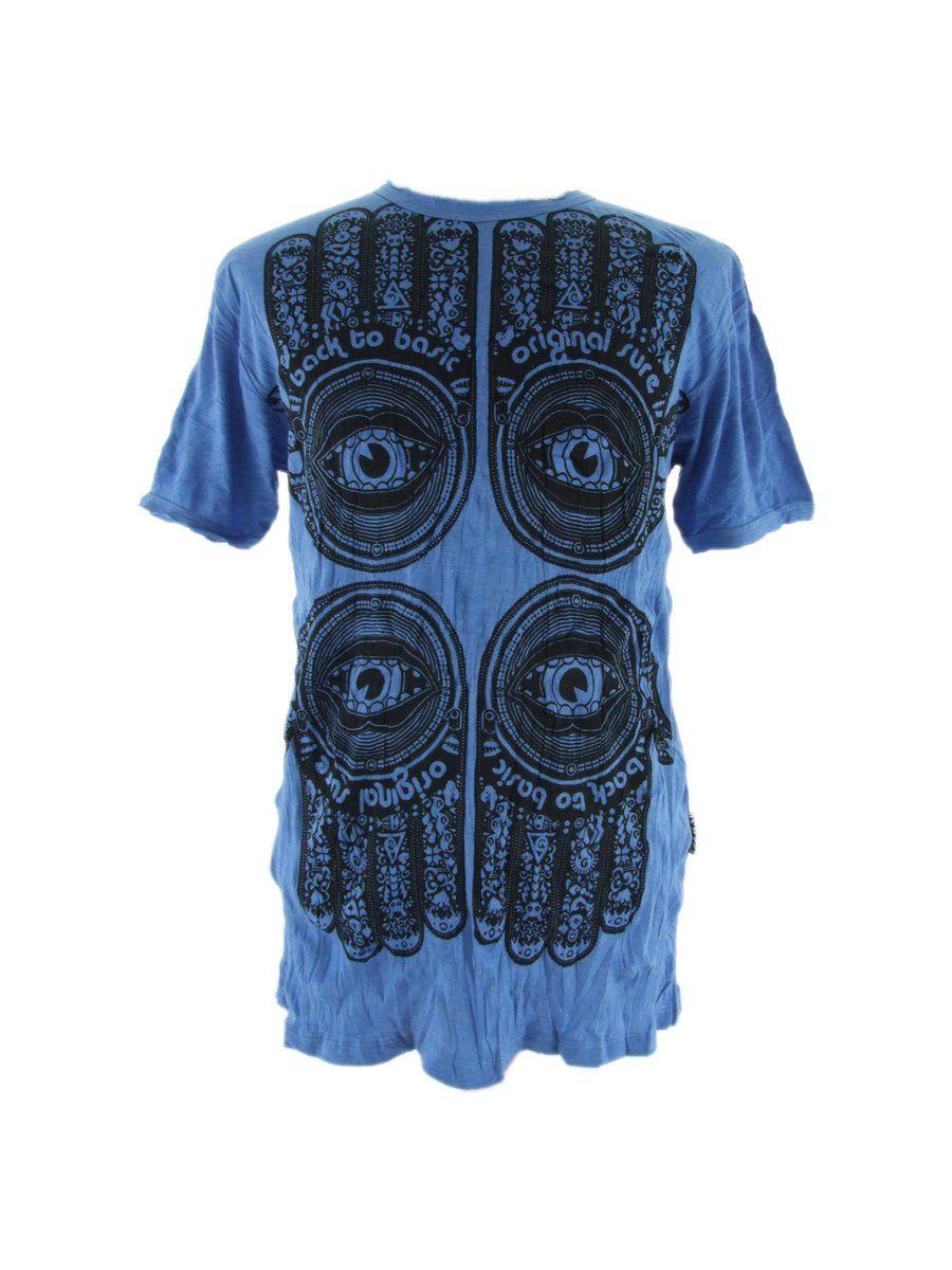 Men's t-shirt Sure Hamsa Blue
