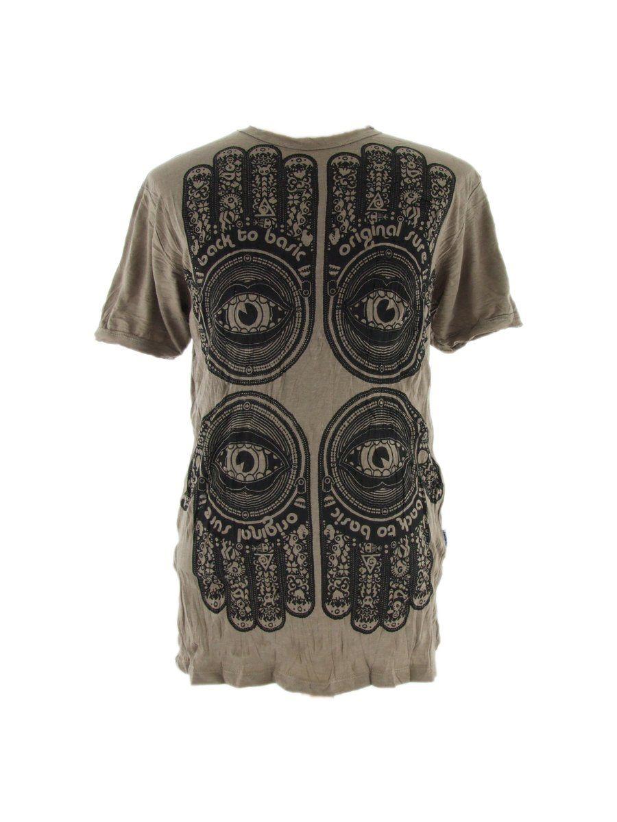 Men's t-shirt Sure Hamsa Brown