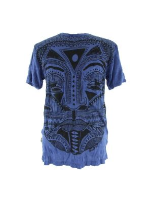 T-shirt Khon Mask Blue