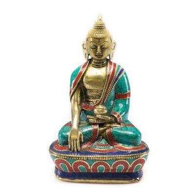 Figur Buddha Bhumisparsa – medium