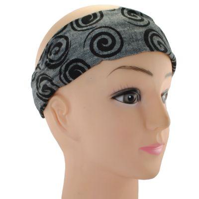 Haarband Gulung Hitam