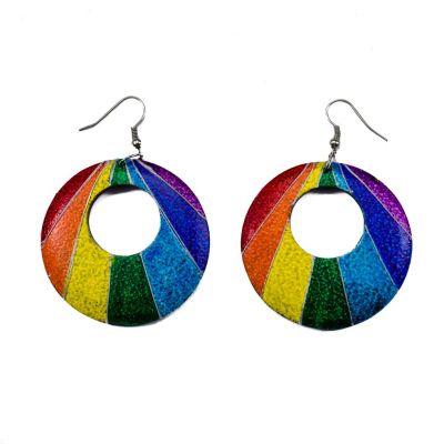 Ohrringe Rainbow rays