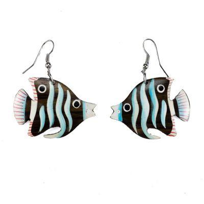 Ohrringe Blue Angelfish