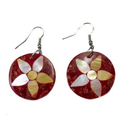 Ohrringe Korallenblüte