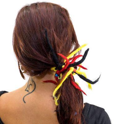 Dreadlocks Rot-gelb-schwarz