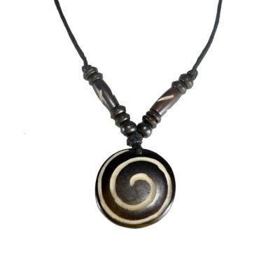 Pendant Spiral - black