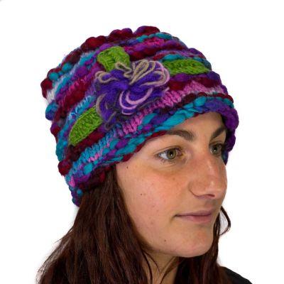 Mütze Indah Ungu