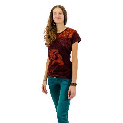 Damen T-Shirt Daya Mawar