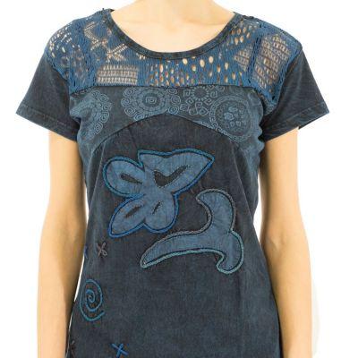 Damen T-Shirt mit kurzen Ärmeln Daya Pirus Nepal