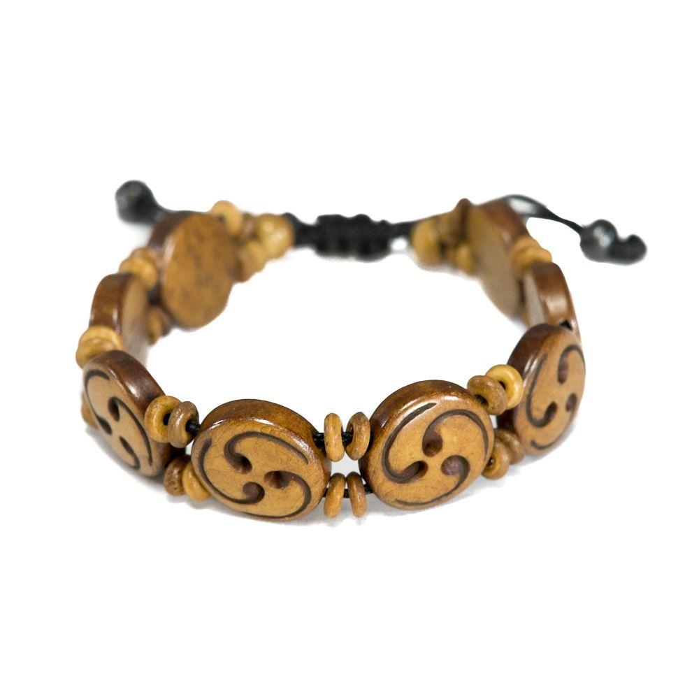 Knochen-Armband Celtic spiral