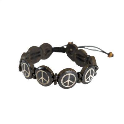 Armband Peace - black