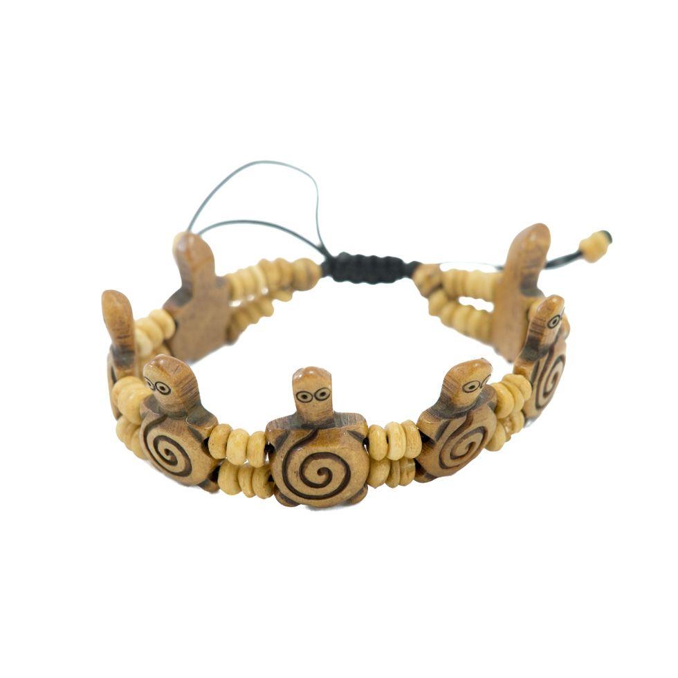 Knochen-Armband Turtles