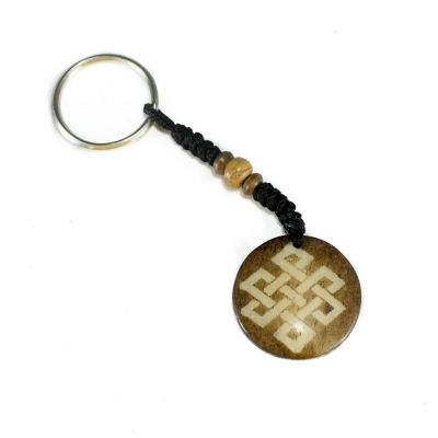 Schlüsselanhänger Endless knot - dark