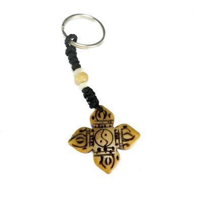 Schlüsselanhänger Crossed dordje