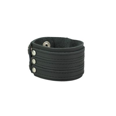 Armband Tiga Garis Black