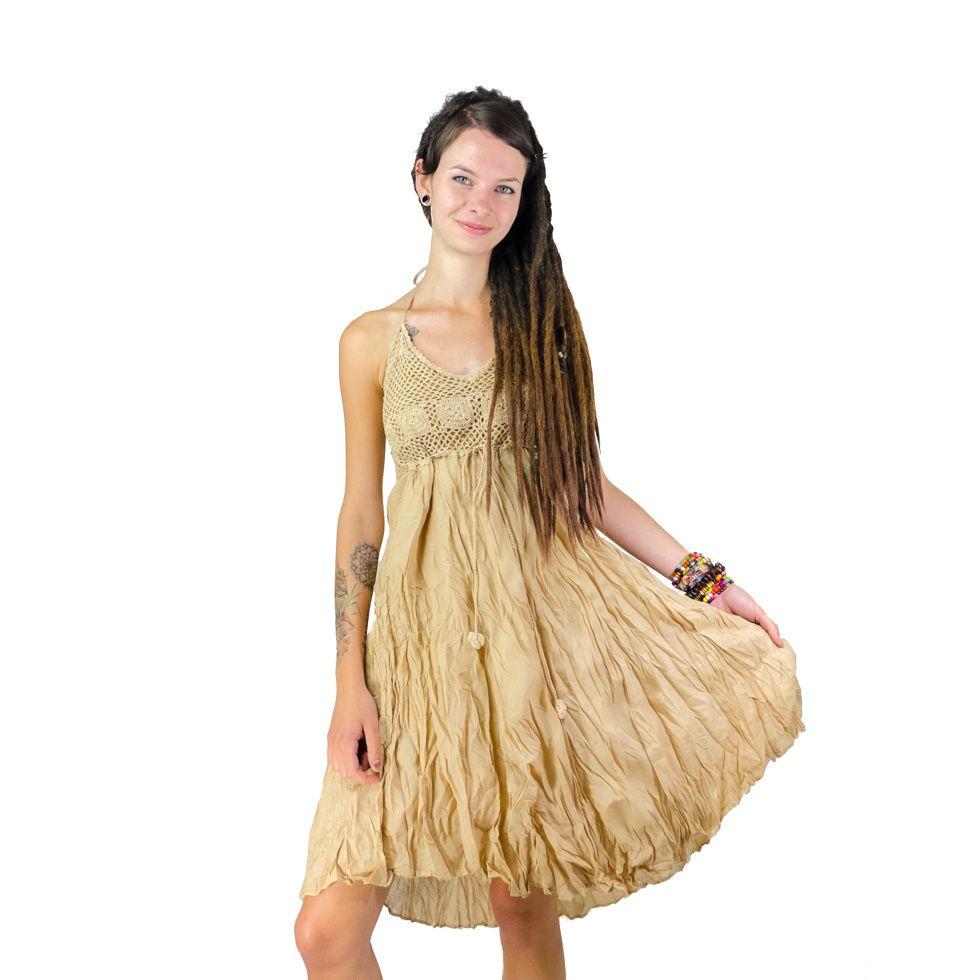 Kleid Amarindra Beige
