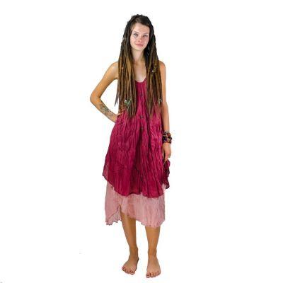 Kleid Nittaya Burgundy