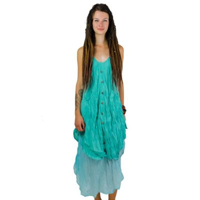 Kleid Nittaya Turquoise