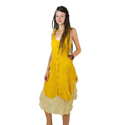 Kleid Nittaya Yellow
