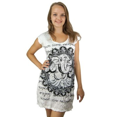 Kleid Sure Ganesh White