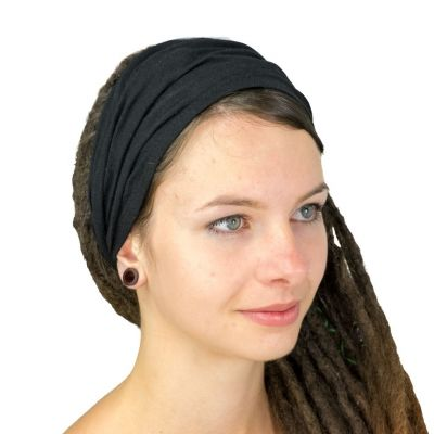 Schwarzes Haarband