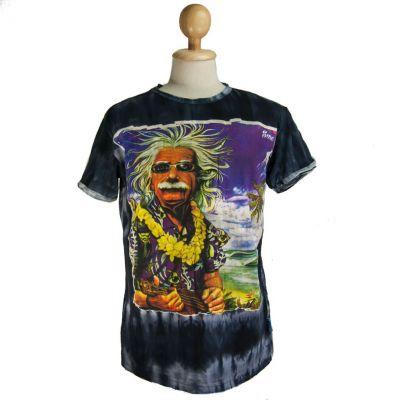 T-shirt  Einstein on Holiday Black