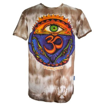 T-shirt Third Eye Brown