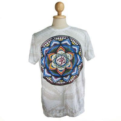 T-shirt Holy Lotus White