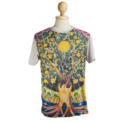T-shirt Magical Tree Beige