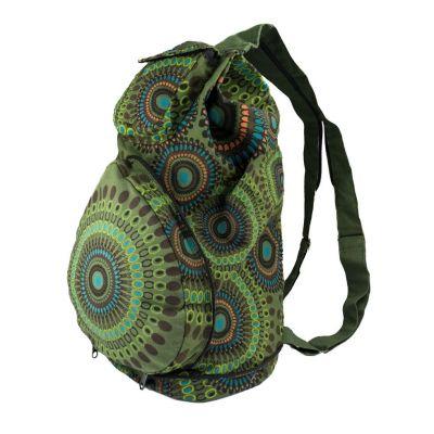 Rucksack Mandala Green