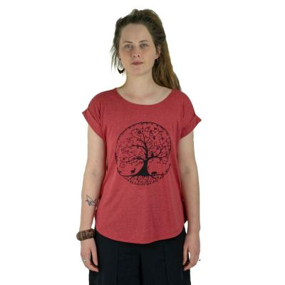 T-Shirt Darika Beauty of Wildlife Red