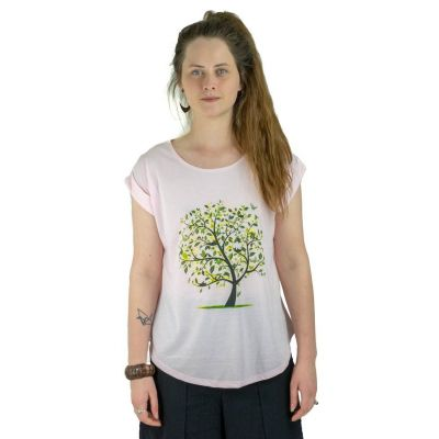 T-shirt Darika Meadow Tree Pinkish