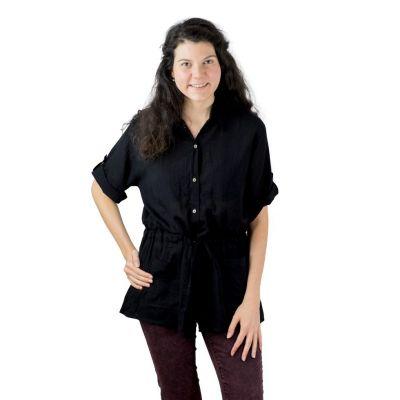 Damenhemd Sumalee Black