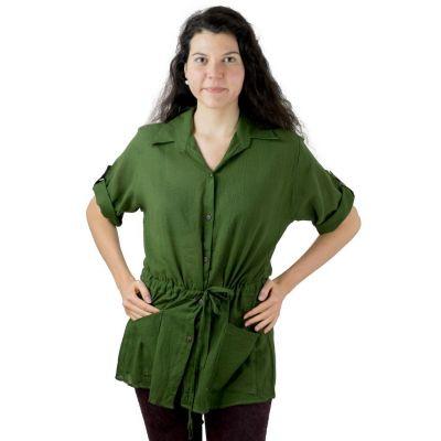 Damenhemd Sumalee Green | UNI