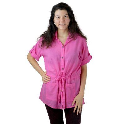 Damenhemd Sumalee Pink
