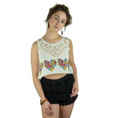 Crop Top Lamai Butterfly Heart