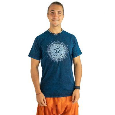 T-shirt Om Senang Turquoise