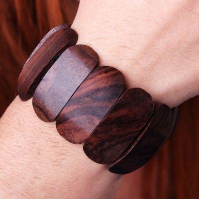 Holzarmband Syal Permai